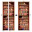 Details about  /PVC Vintage Bookshelf Door Sticker Wallpaper Wall Decals Mural 3D Home Art Decor