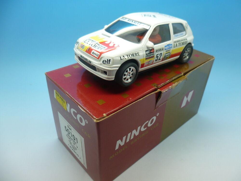 Ninco Renault Clio 16v, 50101, whiteo