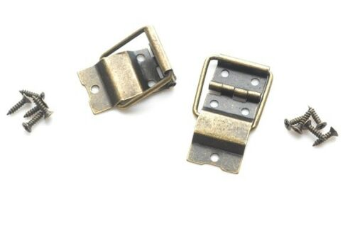 Prokraft OBSH pair Antique Bronze Bar-style box stay hinges