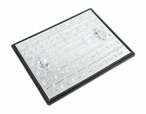 Clark-Drain PC6AG Galvanised Steel Manhole Cover