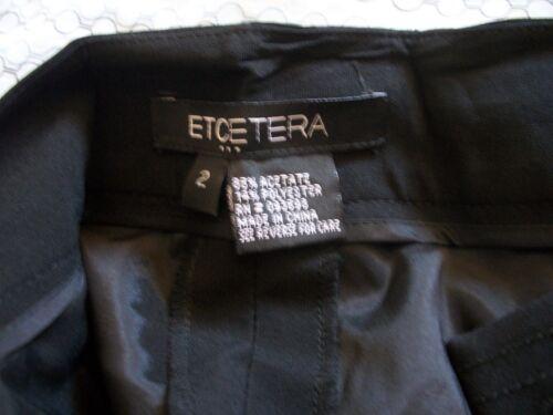 X 29 Størrelse Size 2 Nwt 34 3 34 Etcetera 3 2 Pants Slacks 29 4 X 4 Black FzOwqInz