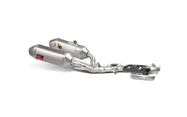 S-H2MET9-QTA Tubo de escape Completo Akrapovic Evolution Titanio Honda CRF 250 R