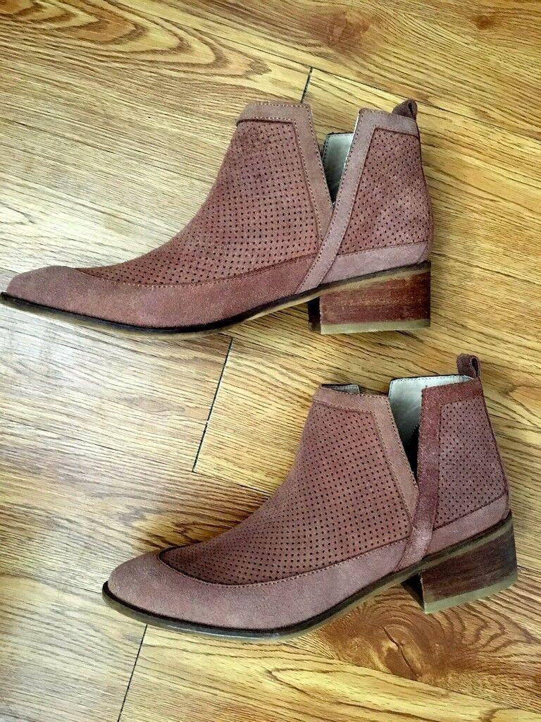 Kaanas Ankle Stiefel Braun Größe 40 (9 (9 (9 US) New 8a3f0e