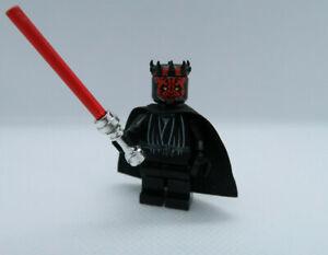 LEGO STAR WARS DARTH MAUL minifigure 7101 7663 7151 good condition