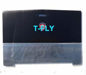New Genuine For MSI GT72 1781 1782 LCD Top Lid Back Rear Cover 307-781A415-Y311