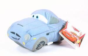 Disney-Cars-2-FINN-McMISSILE-7-034-aston-martin-car-plush-soft-toy-NEW