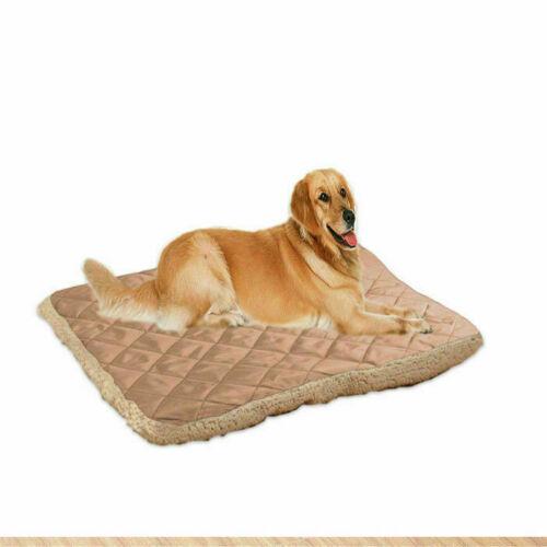 Large Pet Dog Bed Soft Plush Cat Foldable Cushion Warm Mat Washable Sleep Cozy Y