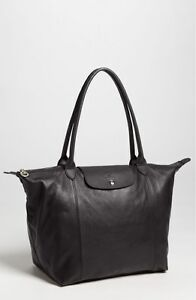 a386f3b89876 Image is loading New-LONGCHAMP-Le-Pliage-Cuir-Large-Leather-Shoulder-