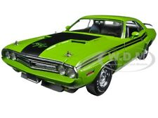 1971 DODGE CHALLENGER HEMI R/T GREEN GO 1:18 DIECAST MODEL CAR GREENLIGHT 12960