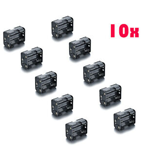10x-Plastic-6-X-AA-Battery-Holder-Box-9V-Power-Supply-Case-for-R06-14500-1450