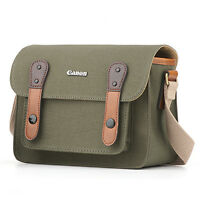 Original Canon No. 6520 Herringbone Canvas Mini Shoulder Bag For 100d Rebel Sl1