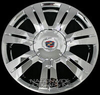 4 Chrome 10-16 Cadillac Srx 18 Wheel Skins Hub Caps Rim Covers And Center Caps