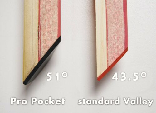 PRO POCKET RAILS COVERED FOR VALLEY POOL TABLE DIAMOND CHAMPIONSHIP OR MERCURY