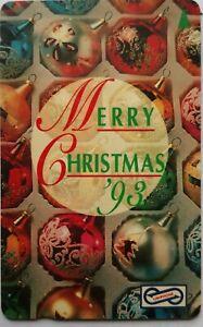 Malaysia-Used-Phone-Cards-Merry-Christmas-039-93