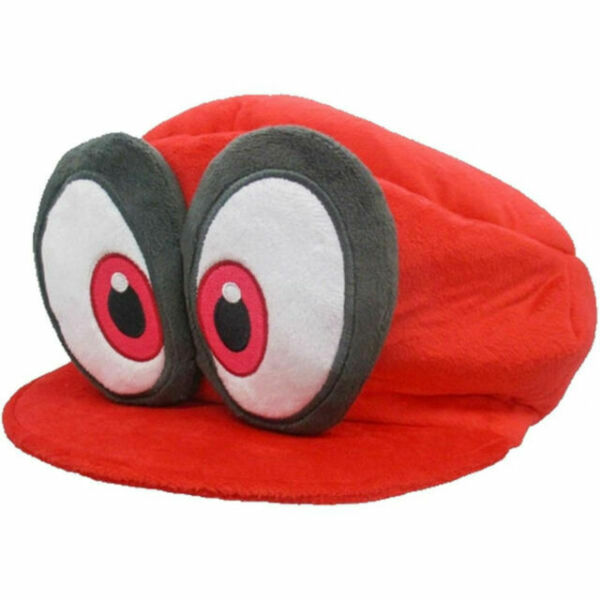 Details about  /2pcs Super Mario Odyssey Cappy and Waluigi Soft Plush Toy Doll Easter Day Gift