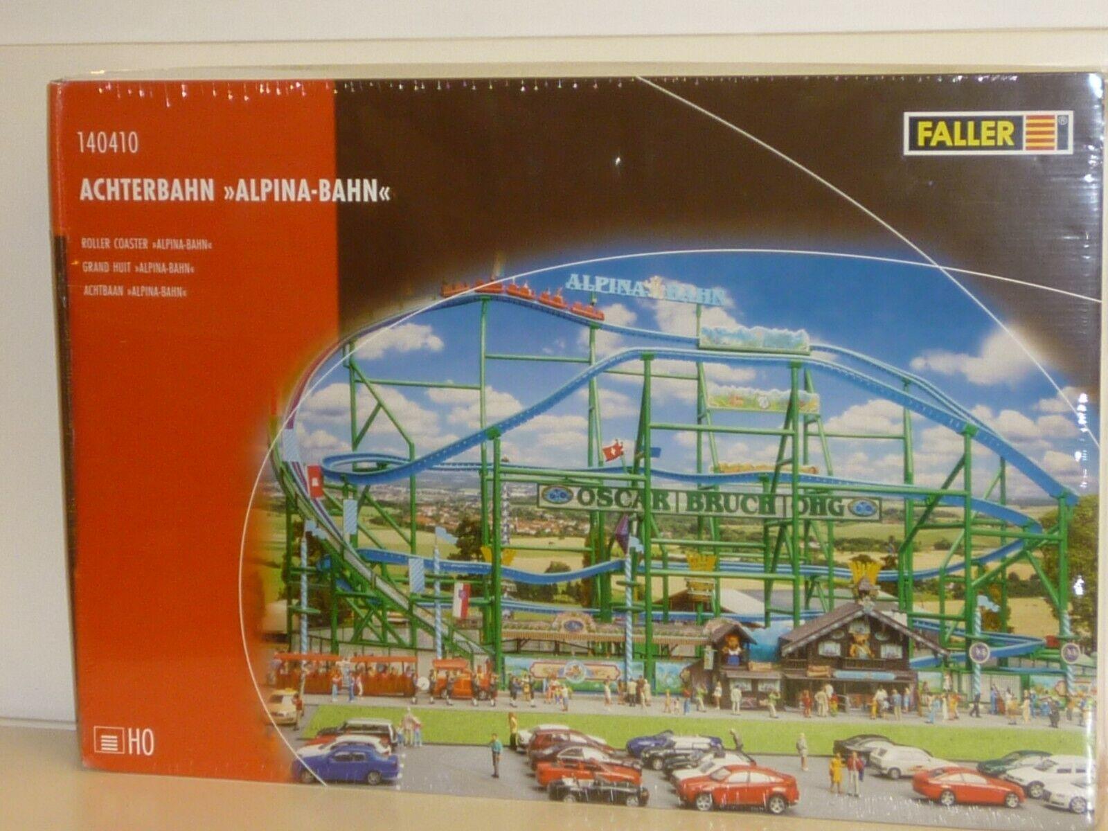 Faller h0  140410 montaña rusa alpina-Bahn-kit-nuevo en el embalaje original
