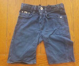 GAS-Boy-039-s-Blue-Jean-Chino-Long-Stretch-Shorts-Size-6-Years-EU-118