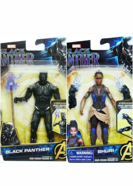 Marvel Black Panther Action Figure-Hasbro-vibranium Gear Avengers