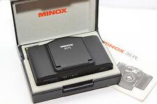 MINOX 35 PL Fotocamera 35mm Obiettivo MINOTAR 2,8/35 BORSA EL AL GL GT MB ML PE*