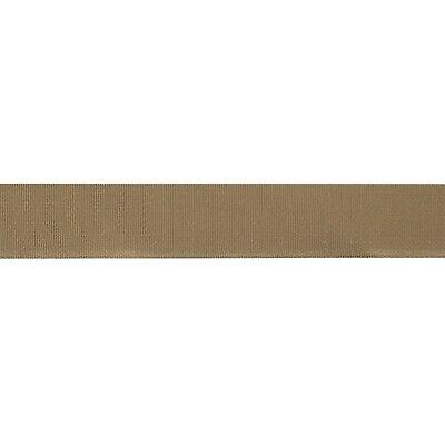 "Binding Tape 1/"" Mil-Spec Grosgrain Ribbon 10 Yards Coyote Brown 498"