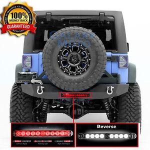 07-17 Jeep Wrangler JK Rock Crawler Rear Bumper+Swing Tire ...