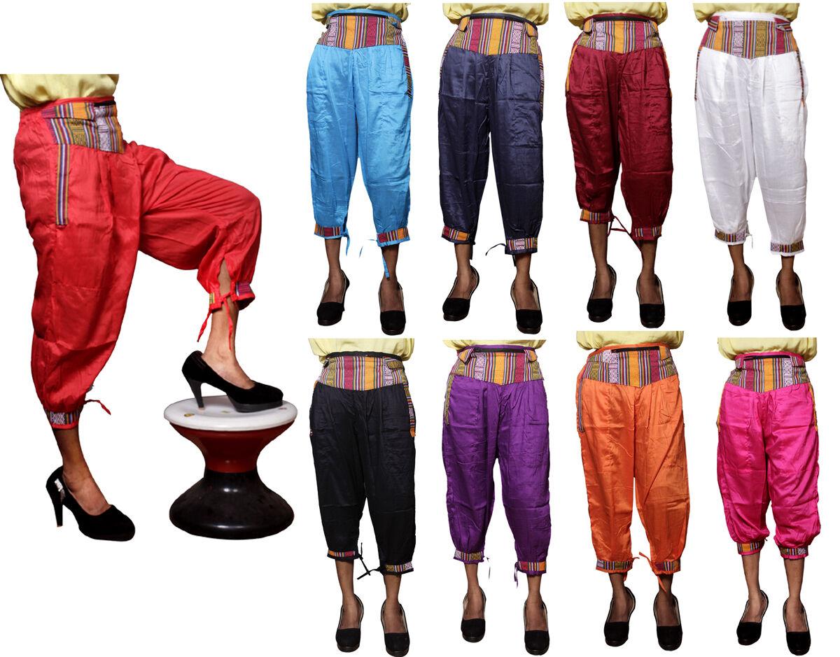 5pcs-100pcs Causal Nepali Design Capri For Girls USA Hippie Pants Wholesale Lot