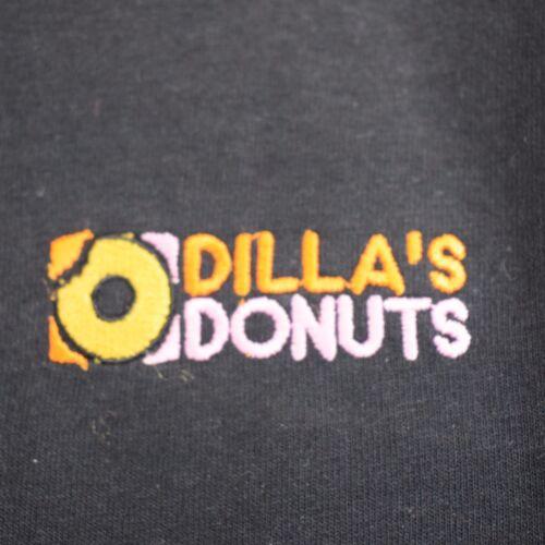 Dillas Donuts Hip Hop J Dilla Black Tee T-shirt by Actual Fact