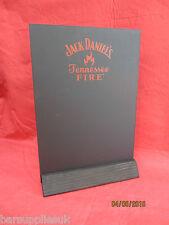 JACK DANIELS TENNESSEE FIRE TABLE TOP CHALK BOARD