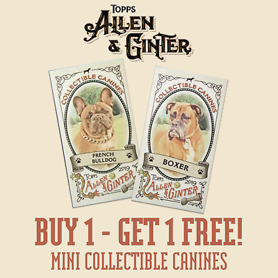 2019 ALLEN /& GINTER COLLECTIBLE CANINES MINI #CC-...Complete Your Set