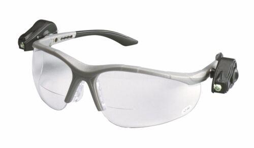 3M Light Vision 2 Protective Eyewear 11477-00000-10 Clr Anti-Fog Lens Gry Fr