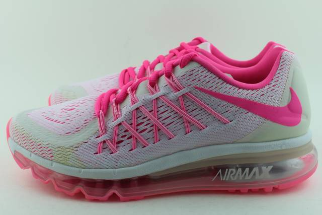 416e9f69de80 NIKE AIR MAX 2015 YOUTH Size  7.0 same as woman 8.5 PINK POW NEW RUNNING