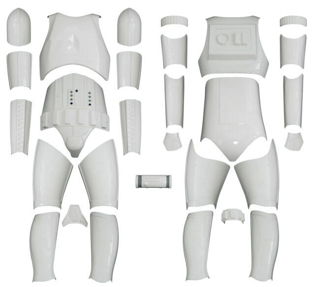 Star Wars Stormtrooper Costume Armour - Kit Version 1 with No Helmet from UK