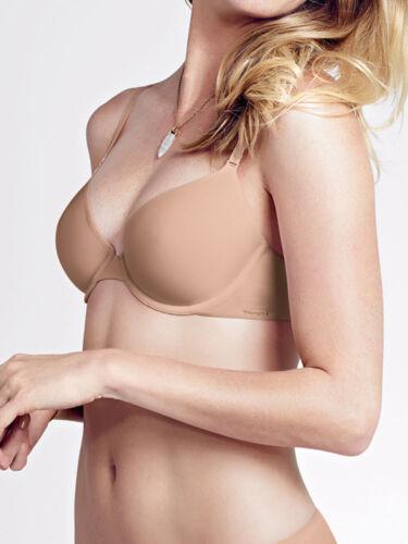 TRIUMPH Body Make-Up T-shirt Essentials Soutien-Gorge 75-90 Cup A-D Blanc Noir Skin NEUF