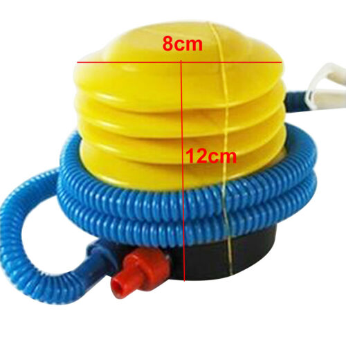 Air Pump Inflator for Swimming Ring Balloon /& Yoga Ball Plastic Inflatable Foot