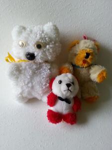 3-kleine-Stofftiere-034-Teddys-034