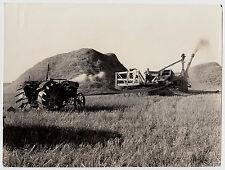USA MÄHDRESCHER / HARVESTER * Vintage 1930s Archives' Photo