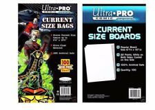 20 x Ultra Pro Comic Series - CURRENT Size Comic Bags & Backing Board Bundle