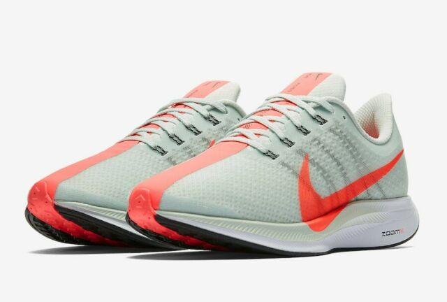 Nike W Zoom Pegasus 35 Turbo [AJ4115 060] Women Running GreyHot Punch Size 7.5