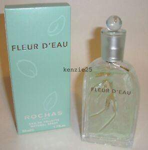 ROCHAS-FLEUR-D-039-EAU-WOMEN-PERFUME-1-7-OZ-SPRAY-50-ML-EDT-DISCONTINUED-NIB