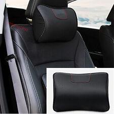FOR Honda CRV CR-V 12 - 2016 Ergonomic Genuine Leather Auto Car Headrest Pillows