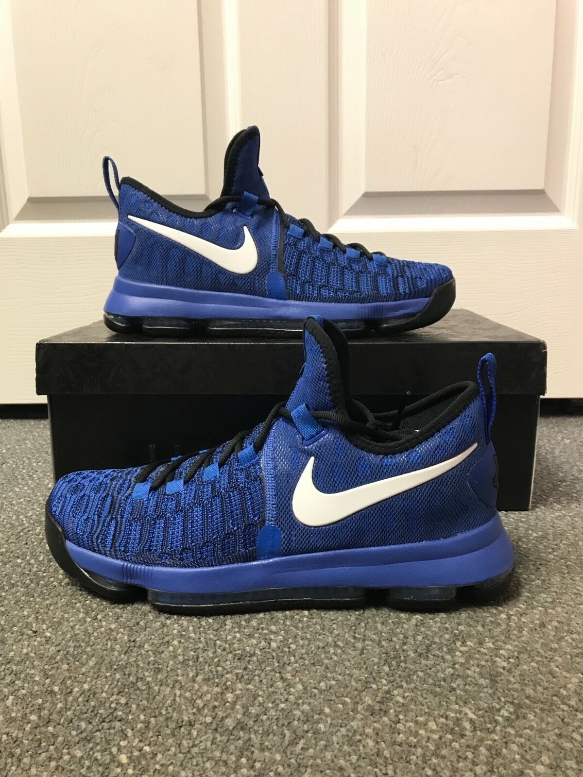 Great discount Nike Zoom KD 9 IX Game Royal Blue Black 100% Authentic Comfortable