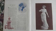 1894 giornale pressione 1/Rosa poppe opera cantante Budapest Zurigo