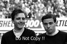 Jim Clark and Trevor Taylor Lotus F1 Portrait Photograph