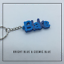 miniature 7 - Multi-colour Personalised Keyring, 3D printed keychain, Gift Tag,Stocking Filler