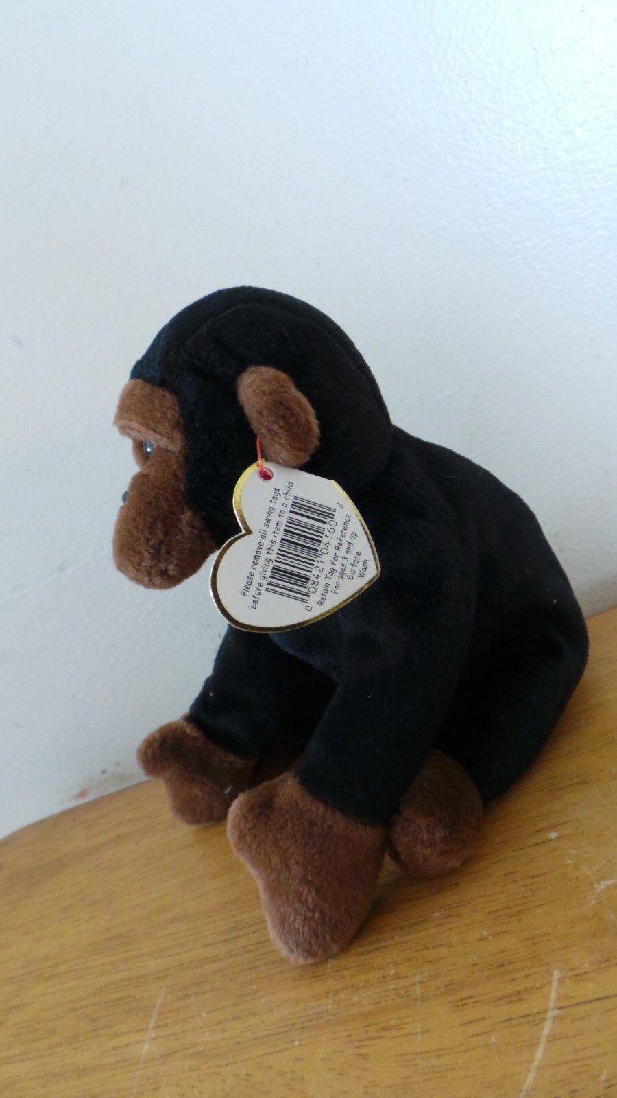 Retired Rare TY Congo Beanie Baby-Error