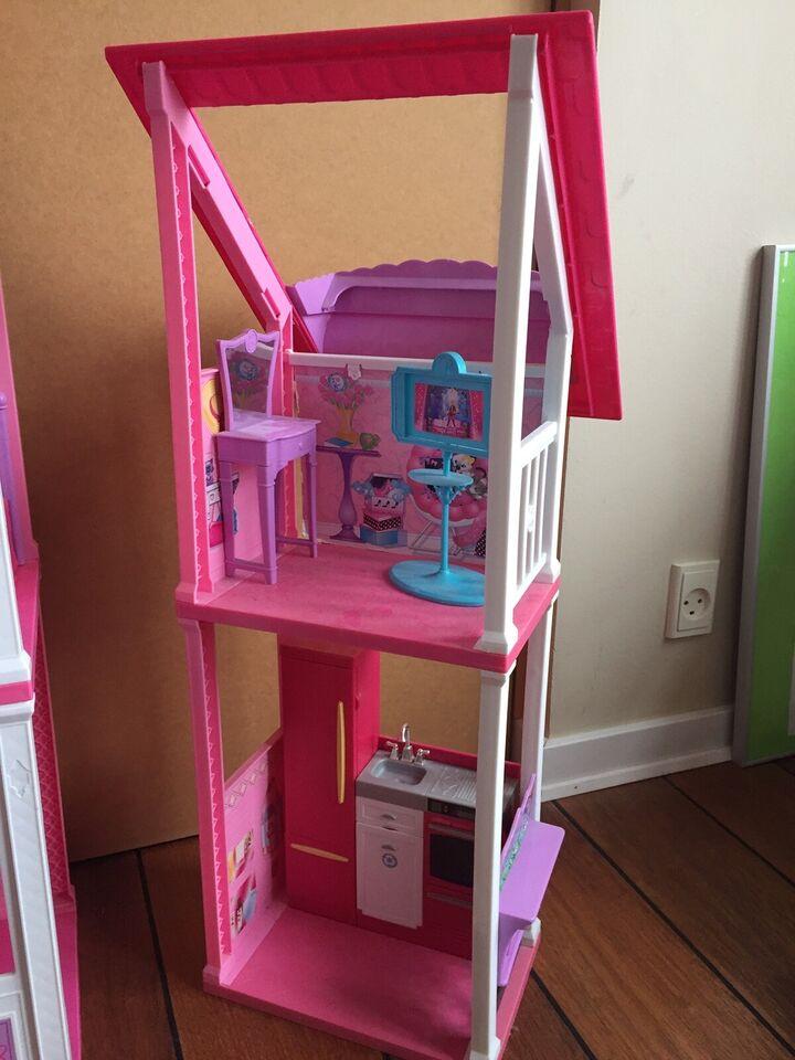 Barbie, Reserveret!! Malibu Beach House + autocamper
