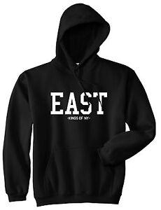 ab22539ab22 Kings Of NY East Coast New York Eastside Pullover Hoodie Sweatshirt ...