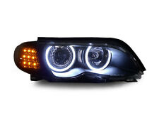 SMOKED LED INDICATORS FOR BMW E46 3 SERIES FACELIFT SALOON & ESTATE TOURING