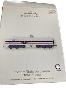 Vintage-Hallmark-Keepsake-Lionel-Freedom-Train-Sleeper-Ornament-Passenger-Car