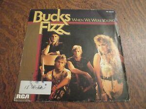 45-tours-BUCKS-FIZZ-when-we-were-young